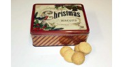 Vintage Christmas Biscuit Tin