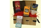 Luxury Cornish Fudge wicker effect Hamper