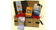 Traditional Cornish Fudge wicker effect Hamper