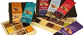 Buy a premade variety fudge box